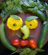 Vegetable man is angry.