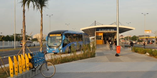 Rio de Janeiro's Transoeste BRT (photo credit: Aaron Minnick)
