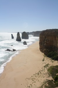 The Great Ocean Road is listed as one of the best drives in the world.  And the 12 Apostles are among one its top highlights. You may think, that's not 12; from the lookout there are two on the other side and over the years due to weather patterns some of the Apostles have broken off from land.